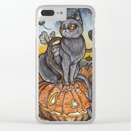 All Hallows Eve Clear iPhone Case