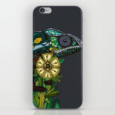 chameleon pewter iPhone & iPod Skin