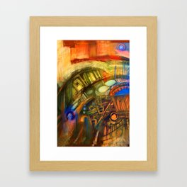 Zero Point Field V Framed Art Print