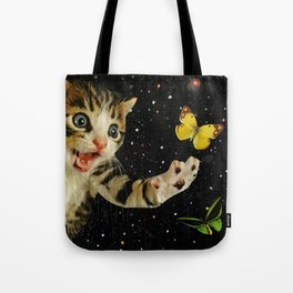 All Across the Universe Chasing Butterflies and Dreams Tote Bag