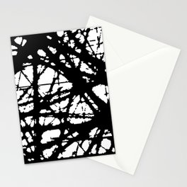 tension, black and white Stationery Cards