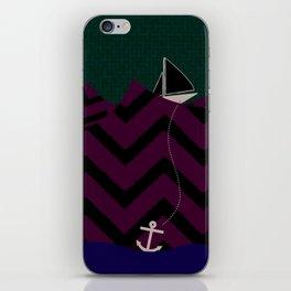 Anchor Drop iPhone Skin