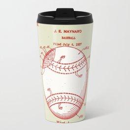 1928 Baseball Patent Travel Mug