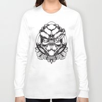 mass effect Long Sleeve T-shirts featuring Mass Effect. Garrus Vakarian by OneAppleInBox