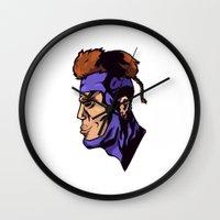 xmen Wall Clocks featuring x23 by jason st paul