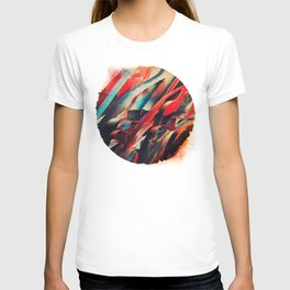 64 Watercolored Lines T-shirt