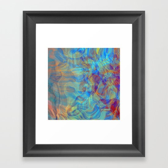 Like Fire and Ice Framed Art Print