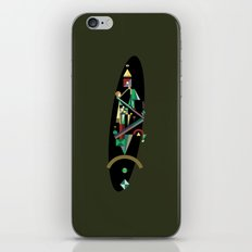 absinthe: red iPhone & iPod Skin