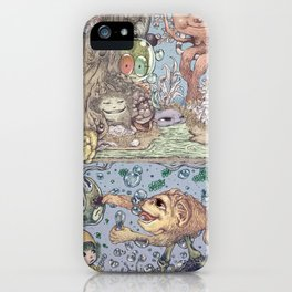 Mind Friend of Imaginations 2 iPhone Case