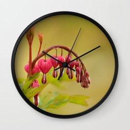 Spring heart Wall Clock