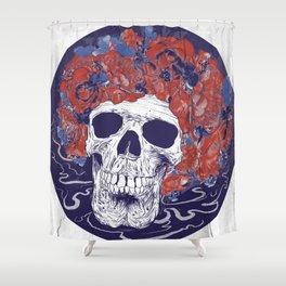 Dead Head Shower Curtain