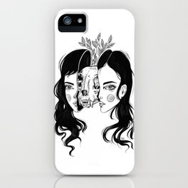 Spit In Two iPhone Case