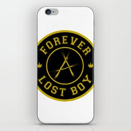 Lost Boy Badge iPhone Skin