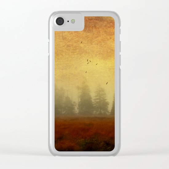 Fire of Life Clear iPhone Case