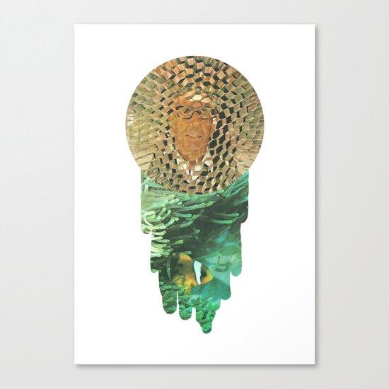 Honeycomb View Canvas Print