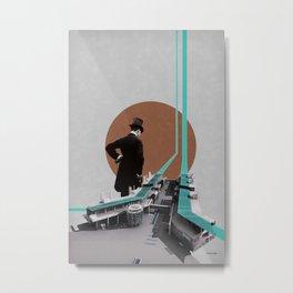 Inspection Metal Print