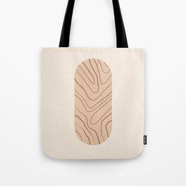 DATE AND TIME - Hand drawn modern abstract art Tote Bag