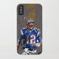 football iPhone & iPod Cases featuring Football by Maurice Zombie
