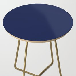 Solid Navy blue Side Table
