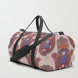 Hamsa Sloth Duffle Bag
