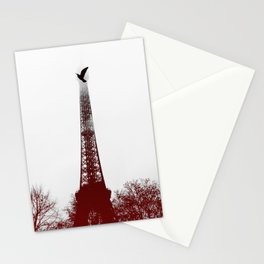 Bird on the tower Stationery Cards