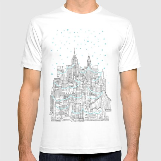 Winter in New York T-shirt