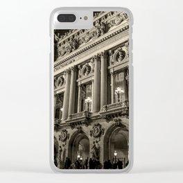 Opera Paris Garnier France Clear iPhone Case