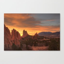 Fire of the Gods Canvas Print