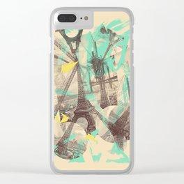 Paris Inception Clear iPhone Case