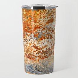 Rust texture. Vintage texture. Grunge rusty metal background 2 Travel Mug