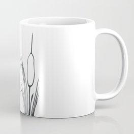 Paper-cut Cattail Coffee Mug