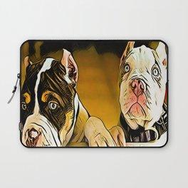 Pit Bull Models: Chance & Owen 01-01 Laptop Sleeve