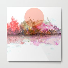 An Unusual Sunset Metal Print