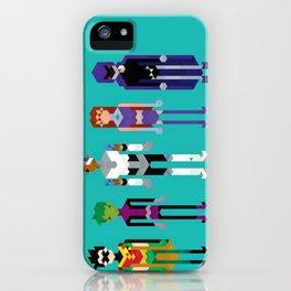 Teenage Superheroes iPhone Case