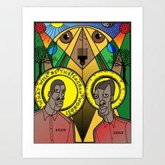 1001 Black Men--#213 Art Print
