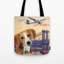 Bree in New York Tote Bag