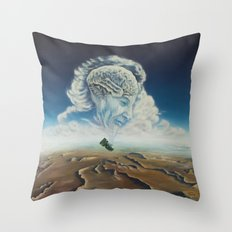 Richard Feynman Throw Pillow