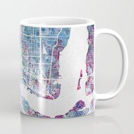 Jacksonville map Coffee Mug