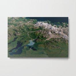 Katmai National Park, Alaska Metal Print