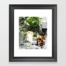 Electric Jungle Framed Art Print