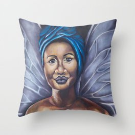 I Had to Grow Wings Throw Pillow