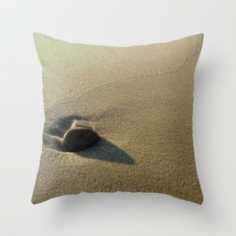 Oceanic pebble 4 Throw Pillow
