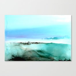 Peacefully Done Canvas Print