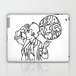 Pig Man Laptop & iPad Skin