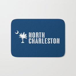 North Charleston, South Carolina Bath Mat