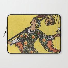 Tarot Card - The Fool Laptop Sleeve