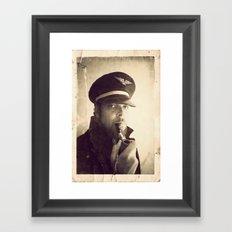 Sea Dog  Framed Art Print