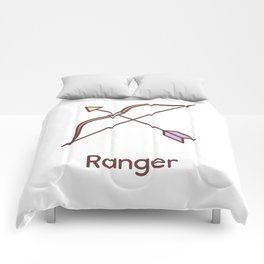 Cute Dungeons and Dragons Ranger class Comforters
