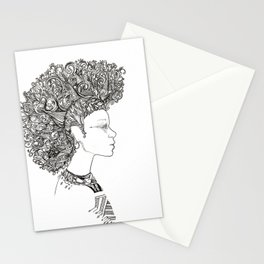 Fierce Beauty by Nathasa Rae Stationery Cards
