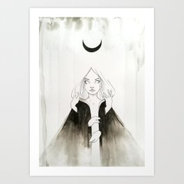 Moonchild I Art Print